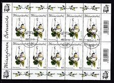 Österreich 2012 gestempelt Kleinbogen MiNr. 3033  !! Rand oben links geknickt !!