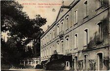CPA  Montpellier - Ecole libre du Sacré-Coeur -Entrée latérale   (510860)