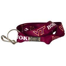 Virginia Teck Hokies Keychain Lanyard