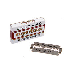 Bolzano Superinox Double Edge Professional Blades (5 Blade pack) - Free Ship