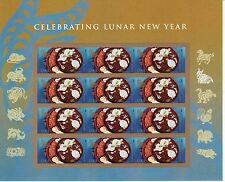 CHINESE NEW YEAR STAMP SHEET -- USA #4957 FOREVER 2015 YEAR OF THE RAM