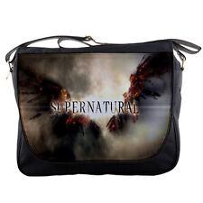 Supernatural Television Series School Messenger Bag Shoulder Laptop Bookbag