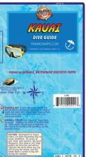 Kauai Hawaii Dive & Snorkeling Guide Map Waterproof by Franko Maps