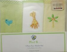 Mini B Face Washer 3 pack - adorable giraffe design!!!