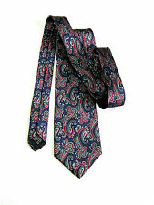 LUCA FRANZINI TIE RACK PAISLEY NUOVA NEW  100% SETA SILK MADE IN ITALY ORIGINALE