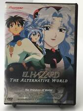 El Hazard: The Alternative World - The Priestess of Water (DVD, 1999 Very Good