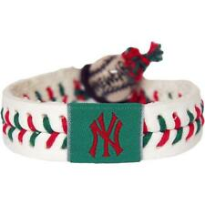 New York Yankees Christmas Baseball Bracelet [NEW] MLB Jewelry Wrist Necklace