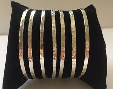 Weekly   Bangle 7 Set Heavy Made In 925 Silver / Semanario