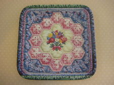 """1997 Always My Daughter Forever My Daughter Quilt Plate, 7 1/4"""" X 7 1/4"""""""