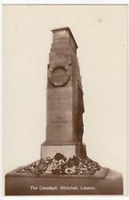 London; The Cenotaph, Whitehall RP PPC, Unposted, c 1930's By Philco
