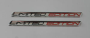 LIMITED EDITION Red/Black Slimline HIGH GLOSS DOMED GEL Sticker/Decal