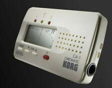 KORG CHROMATIC SOLO TUNER CA-1 Multi Instrument A0 C8 Adj Calibration Maj Min 3r