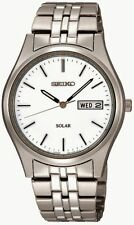 Seiko Gents Solar Dress Watch SNE031P1 RRP £139.00 Our Price £110.95 Free UK P&P