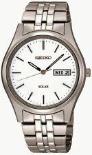 Vestido Solar Seiko Caballeros Reloj SNE031P1 PVP £ 159.00 nuestro precio £ 126.95 Gratis Reino Unido P&p