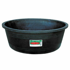 Tuff Stuff Kmd102 7 Gallon Capacity Recycled Plastic Heavy Duty Bowl, Black
