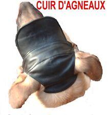 CASQUETTE CUIR TOUTE COULEUR  POUR CHIEN    TAILLE 3 / OU 4