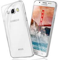 Silikon Case für Samsung Galaxy J7 2016 Schutz Hülle Transparent Thin Back Cover