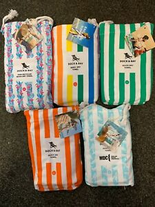 Dock and Bay Quick Dry Beach Towels