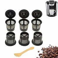 12 Pack Reusable Coffee Pods Single Solo K-Cup For Keurig Replacements Filter