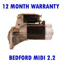 BEDFORD MIDI 2.2 BOX 1988 1989 1990 1991 1992 REMANUFACTURED STARTER MOTOR