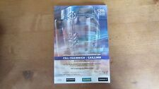 GAA 2012 All Ireland SHC final Kilkenny v Galway official match programme