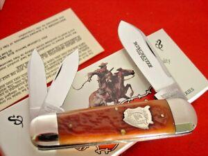 Winchester USA 19122 BH Buffalo Shield Bone Elephant toe Whittler knife ld