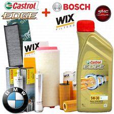Kit tagliando olio CASTROL EDGE 5W30 8LT + 4 FILTRI BMW 525/530D E60