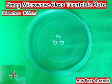 Smeg Microwave Spare Parts Glass Turntable Plate Platter 305mm (W7) Brand New