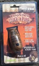 Flextone Thunder Cluck n Purr (#10059) Turkey Hunting Season Calls Yelps
