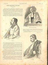 L'affaire Auguste Vaillant anarchiste devant la cour d'assise Paris GRAVURE 1894