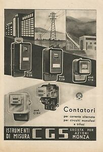 W0103 Instruments By Size Cgs - Eye - Advertising 1943