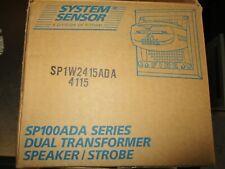 New System Sensor Sp1w2415ada Dual Transformer Speakerstrobe Alarm Fire Sp100ad