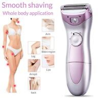 Electric Women Ladies Body Hair Removal Wet/Dry Shaver Epilator Bikini Trimmer