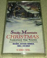 Smoky Mountain Christmas by Cumberland Gap Reunion Cassette Tape 13 SONGS