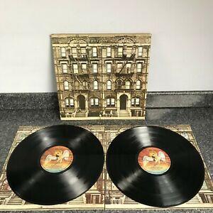 DOUBLE ALBUM LP LED ZEPPELIN PHTSICAL GRAFFITI UK 1ST PRESS SSK 89400  EX/EX+