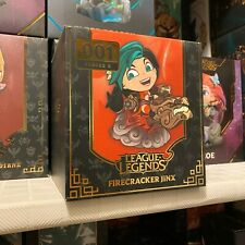 [[VAULTED, NEW]] Firecracker Jinx League of Legends Figure Lol Figurine Special