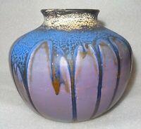 beau vase art déco en terre cuite