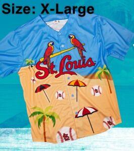 XL Cardinals MARGARITAVILLE Baseball Jersey Shirt From 9/17/21