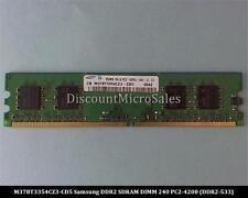 Samsung M378T3354CZ3-CD5 DDR2 256MB PC2-4200 Non ECC 533Mhz RAM Memory