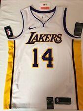 NWT - Brandon Ingram NBA Swingman Jersey Lakers White 877209-101 Mens Large 48