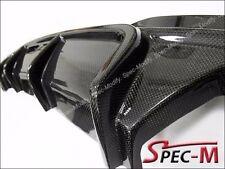 Carbon Fiber M Sport Bumper Diffuser Lip V Style For 2011+ F10 535i 550i