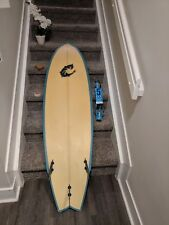 "Wrv Wave Riding Vehicles Surfboard 5'10 x 18"" 1/2 x 2 3/4"" - Dolphin Designs"