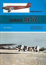 WARPAINT 81 JUNKERS Ju52 TRIMOTOR LUFTHANSA SPAIN WW2 LUFTWAFFE AAC1 SWITZERLAND