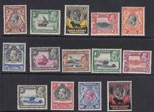SG 110/23 Kenya, Uganda & Tanganyika. 1935 set of 14 values - mounted mint