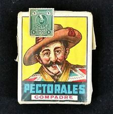 Pectorales Cigarettes Vintage Full Sealed Softpack from Chile w Peru Tax Stamp
