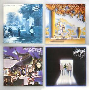 "Moody Blues - Long Distance Voyager / Octave / Present / Live - NM 4x12"" Vinyl"