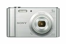 Sony DSC-W800 20.1 MP Digital Camera (Silver)