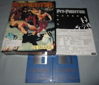 Pit-Fighter - Vintage Commodore Amiga Domark Computer Video Game COMPLETE in Box
