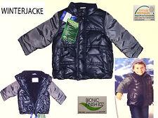 bambino giacca invernale Anorak con fodera in pile TGL 74/80 NUOVI BLU / GRA