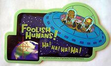 Simpsons foolish humans sticker  Licensed
